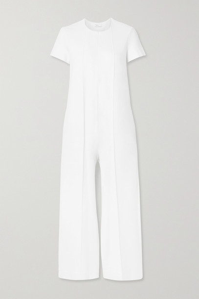 ROSETTA GETTY - Stretch-crepe Jumpsuit - White