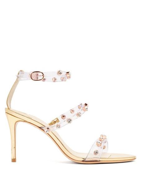 Sophia Webster - Rosalind Gem Crystal Embellished Sandals - Womens - Gold