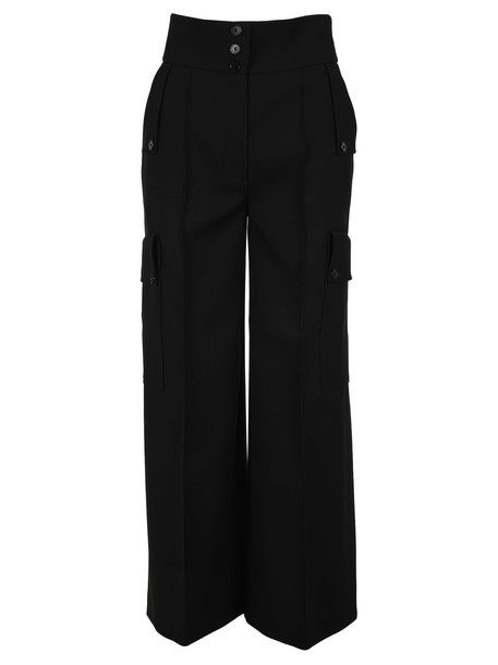 Stella Mccartney Brushed Twill Tailored Pants in black