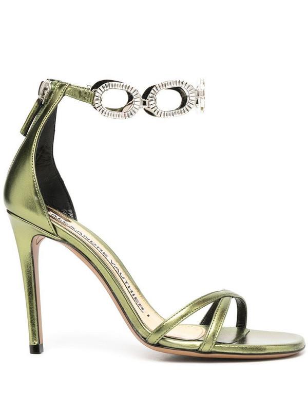 Alexandre Vauthier Bella sandals in green