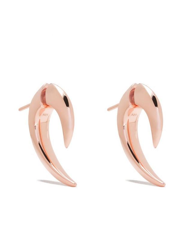 Shaun Leane Talon earrings in gold / rose