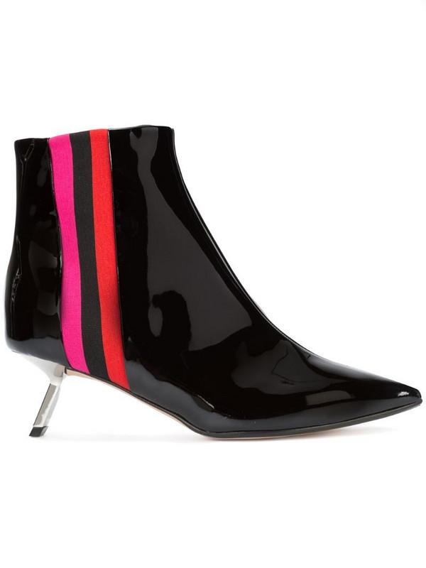 Alchimia Di Ballin pointed toe boots in black