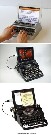 home accessory,love it!,need ,ipad case,writing,machine,vintage,old fashioned
