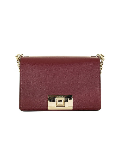 Furla Mimì Mini Crossbody Bag in red