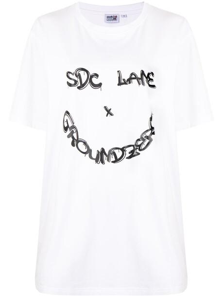 Ground Zero x SDC Lane T-shirt - White