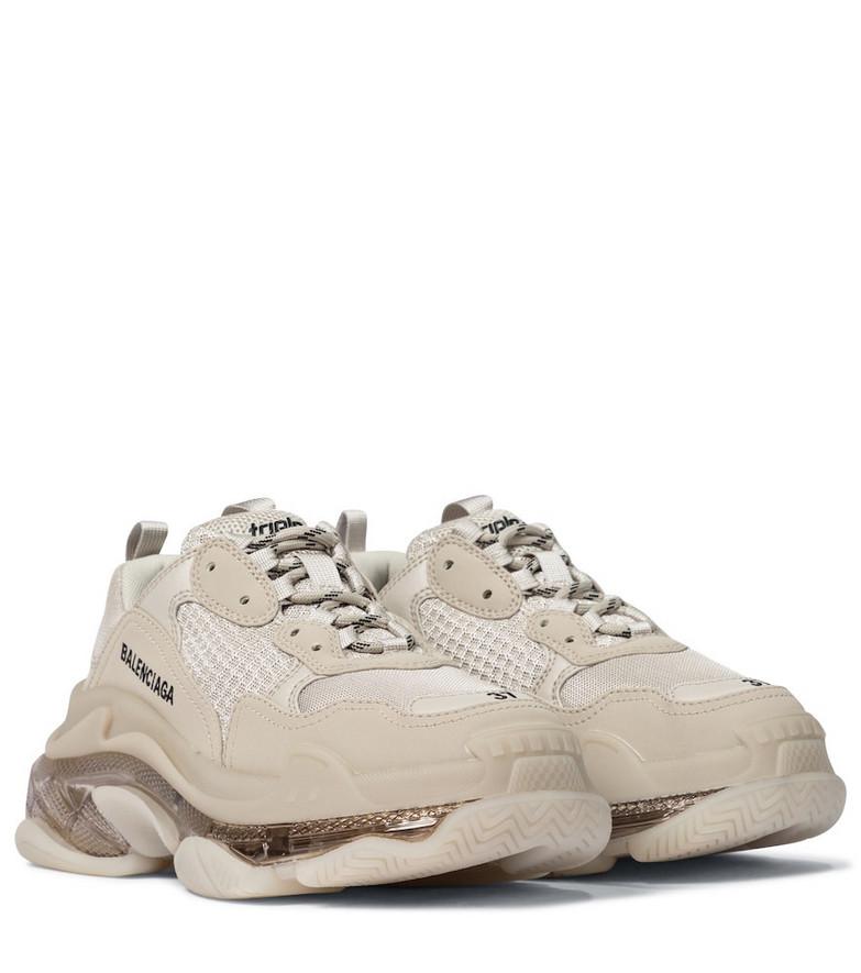 Balenciaga Triple S sneakers in beige