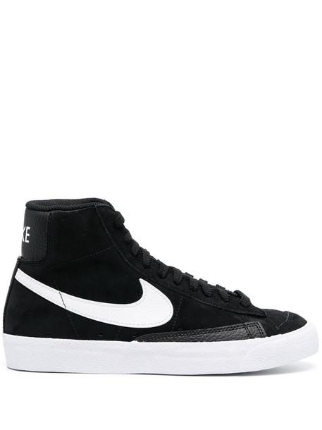 Nike Blazer Mid'77 suede high-top sneakers in black