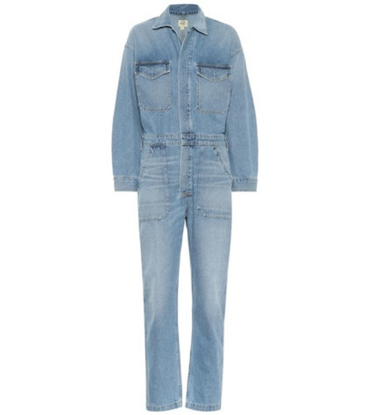 Citizens of Humanity Marta denim jumpsuit in blue