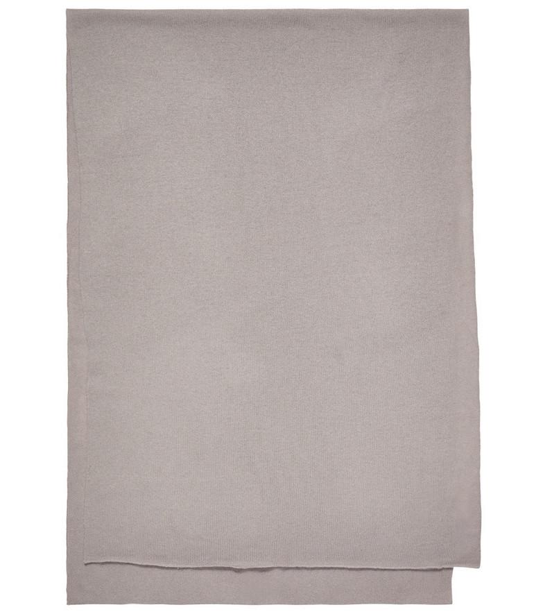 Jardin des Orangers Cashmere scarf in grey
