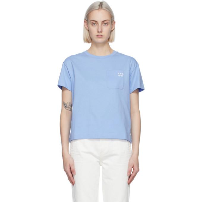 A.P.C. A.P.C. Blue Emma T-Shirt