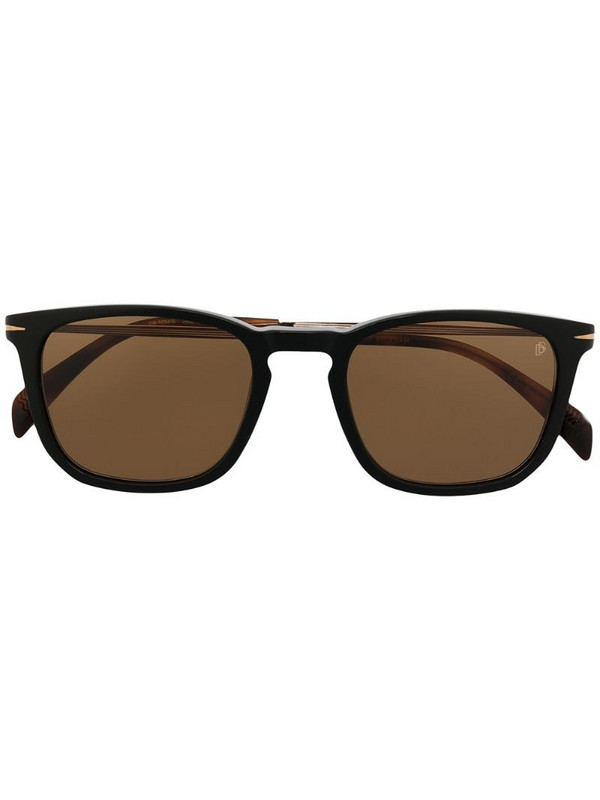 Eyewear by David Beckham square-frame sunglasses in black