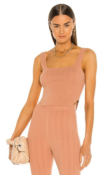 Song of Style Emmy Top in Pink in saffron