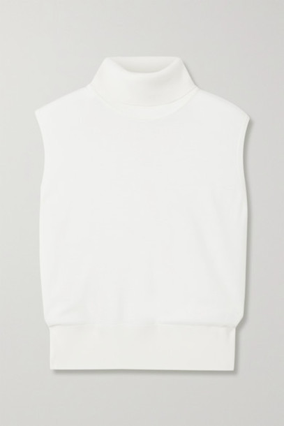The Row - Chano Merino Wool And Cashmere-blend Turtleneck Sweater - White