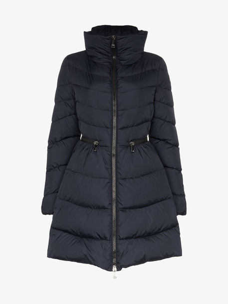 Moncler Mirielon quilted-down coat in blue