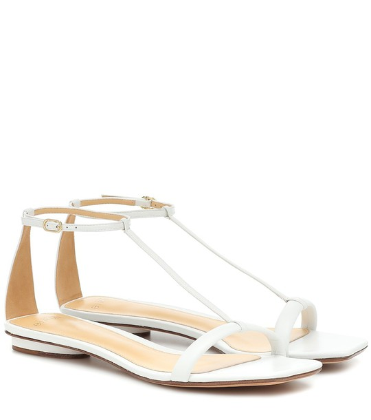 Alexandre Birman Lally leather sandals in white