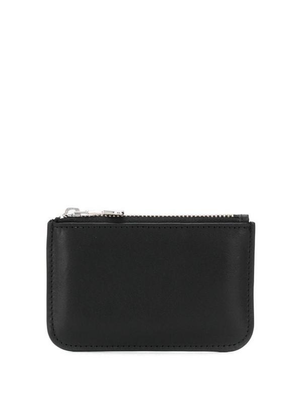 AMI Paris Ami De Coeur puller coin purse in black