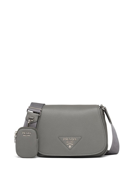 Prada pouch detail shoulder bag - Grey