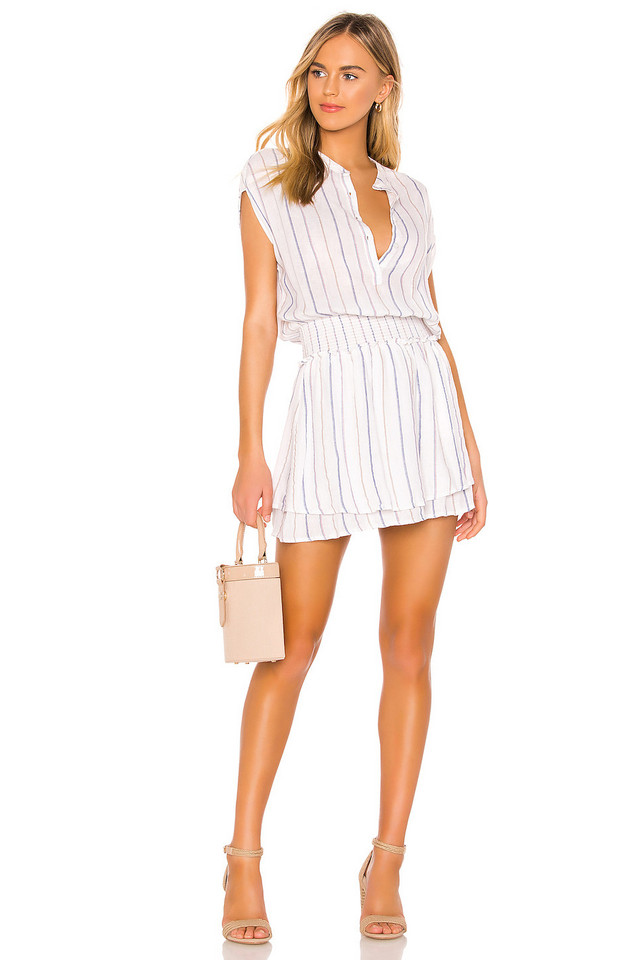 Rails Angelina Dress in white