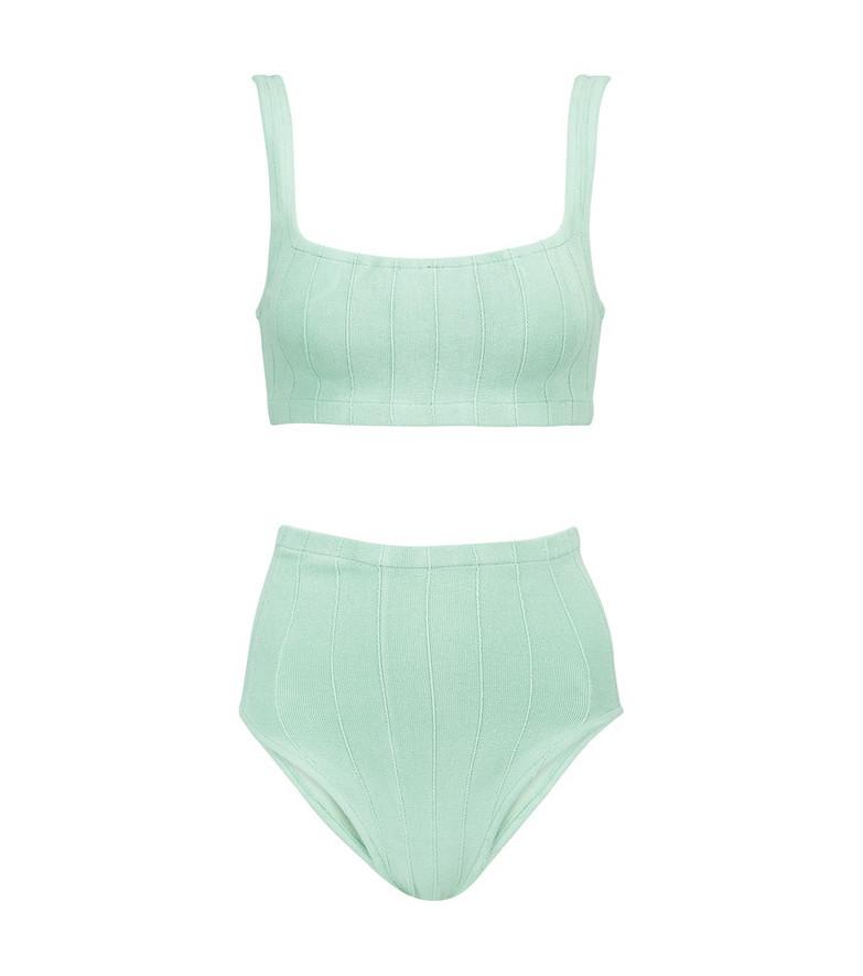 Hunza G Patricia bikini in green