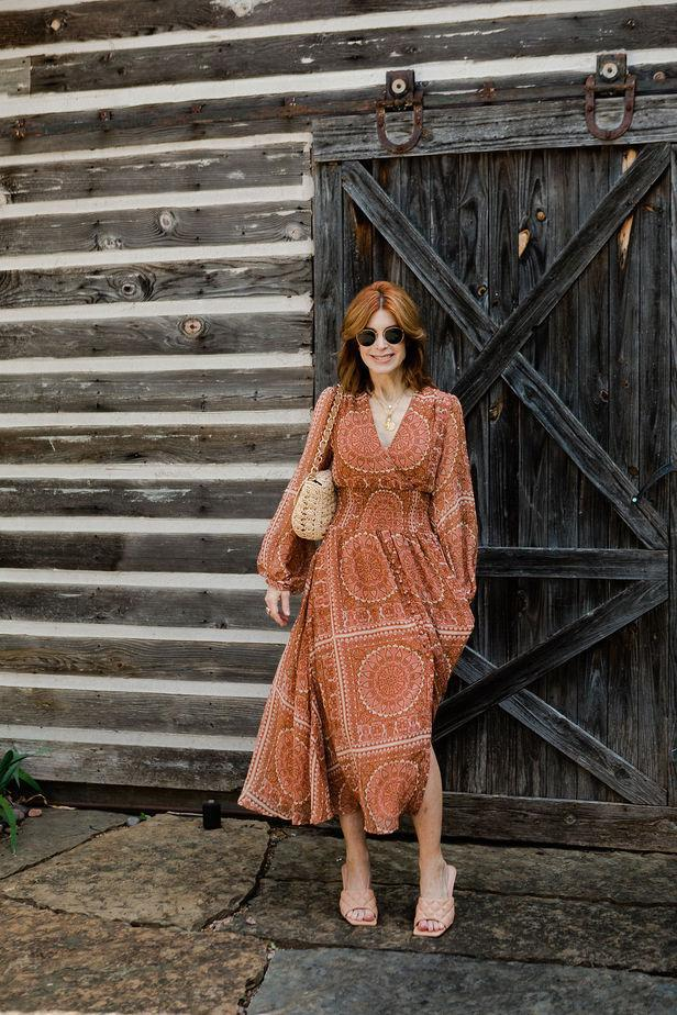 themiddlepage blogger dress bag shoes jewels