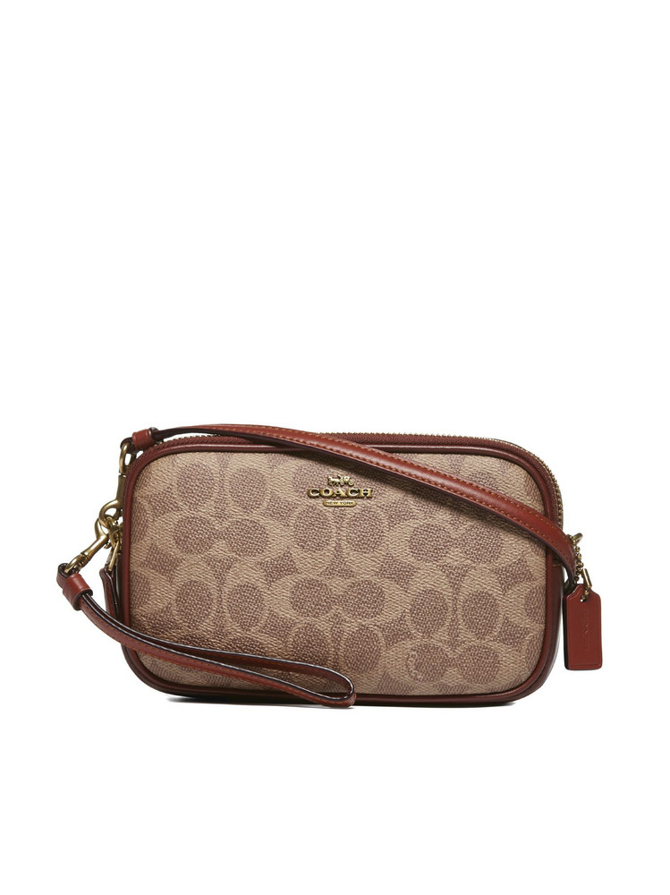 Coach Shoulder Bag in tan