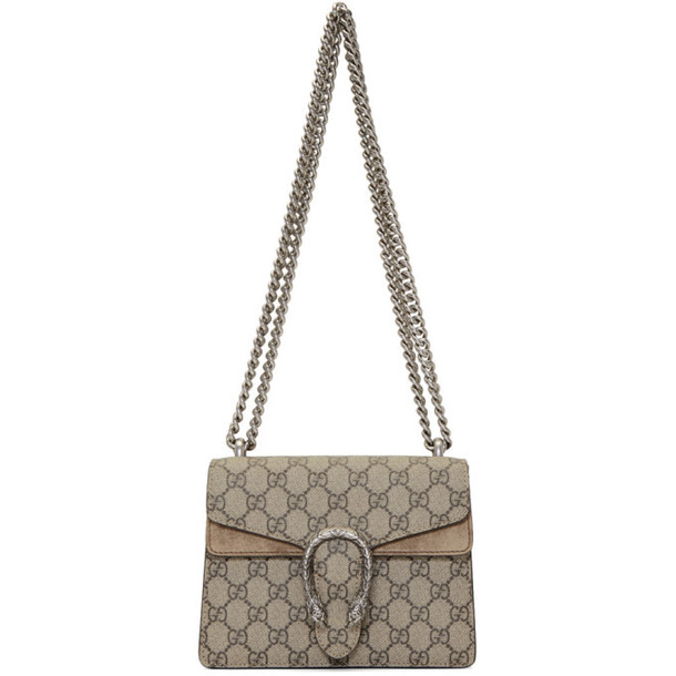 Gucci Beige Mini GG Supreme Dionysus Bag