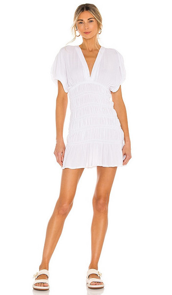 Lovers + Friends Lovers + Friends Innika Mini Dress in White