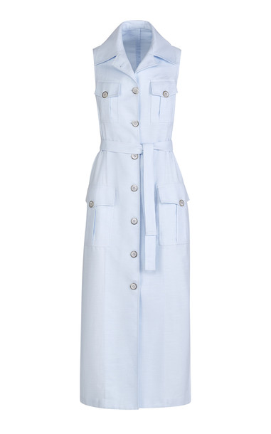 Giuliva Heritage Collection The Mary Angel Dress Cotton Royal Oxford S in blue