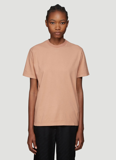 Off-White Arrows T-Shirt in Beige size M