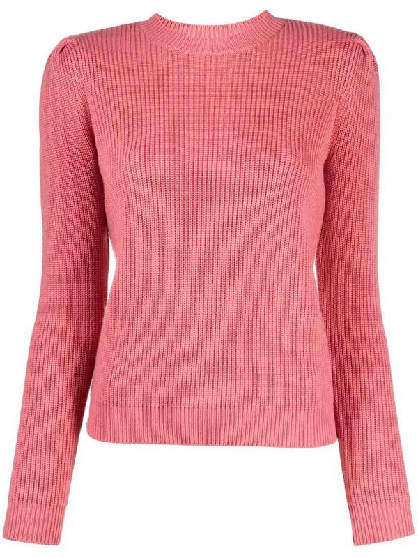 Elisabetta Franchi scoop neck jumper in pink