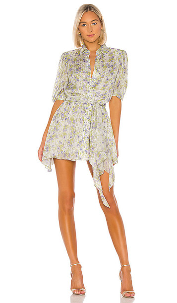 HEMANT AND NANDITA x REVOLVE Apollo Mini Dress in White