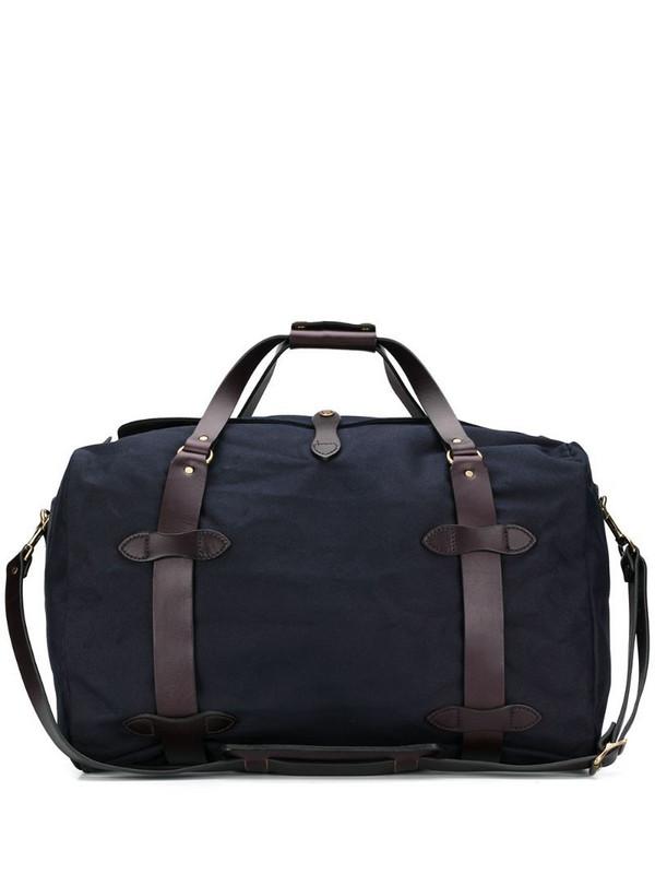 Filson medium duffle bag in blue