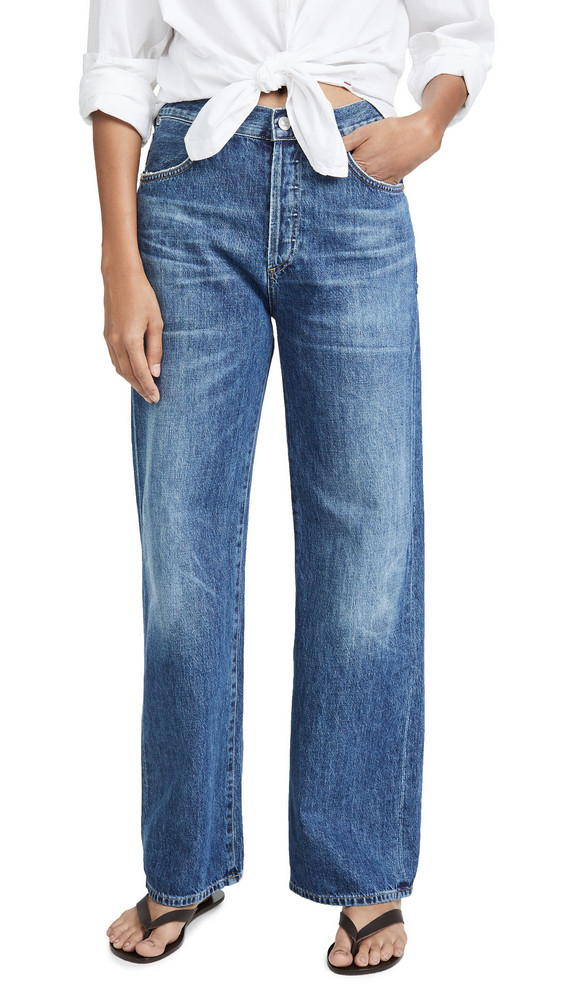 Citizens of Humanity Flavie Trouser Jeans in blue / rose