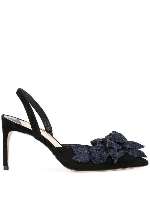 Sophia Webster Jumbo Lilico slingback pumps in black
