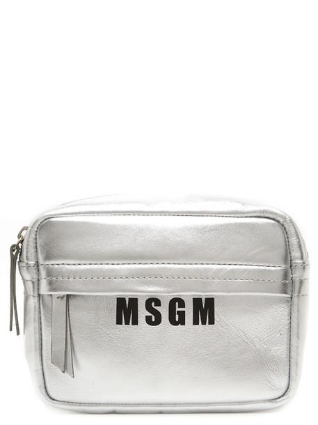 Msgm Bag in silver