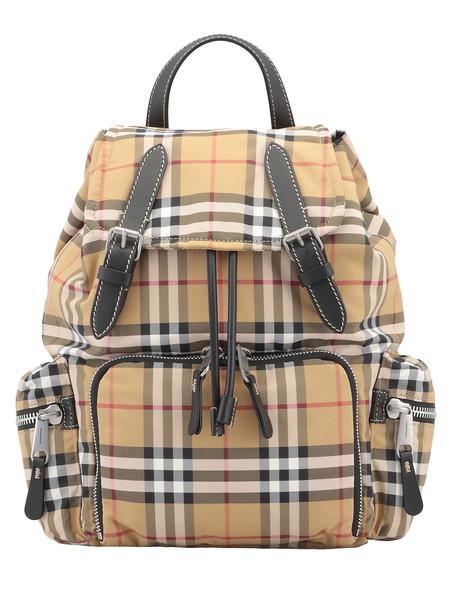Burberry Rucksack Medium Backpack in yellow