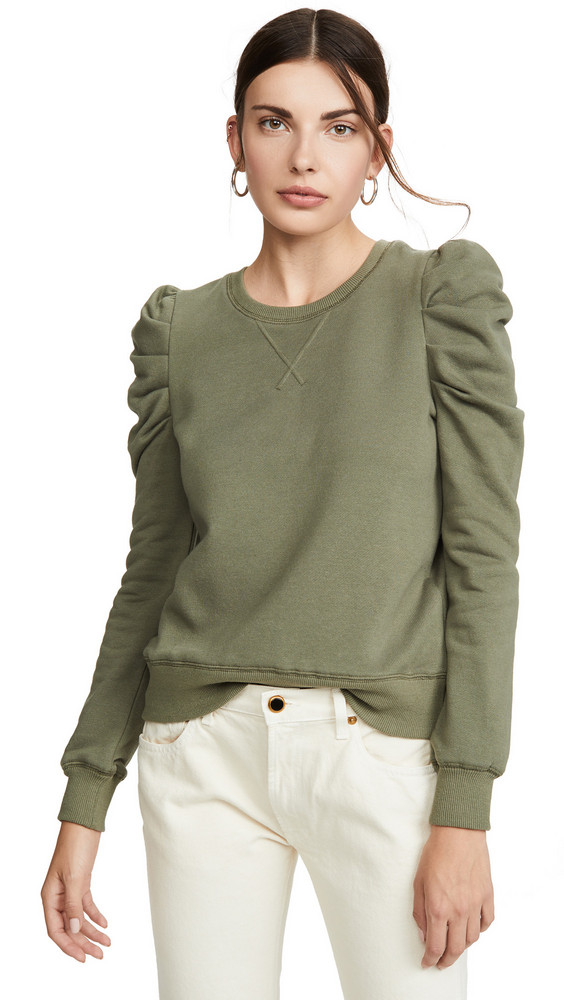 Rebecca Minkoff Janine Sweatshirt in green