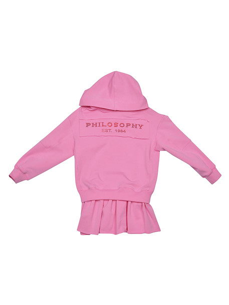 Philosophy di Lorenzo Serafini Kids Logo Print Hoodie Dress