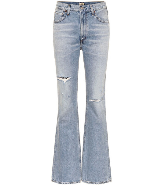 Citizens of Humanity Libby mid-rise bootcut jeans in blue