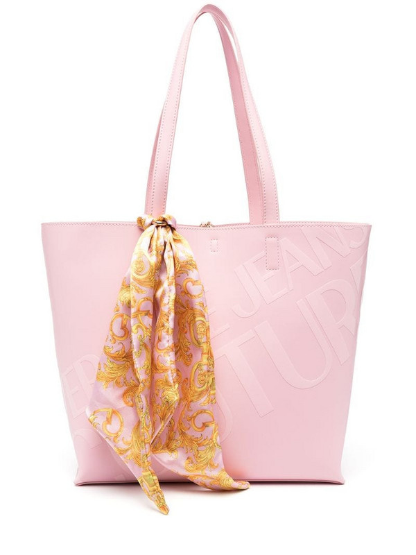 Versace Jeans Couture open-top tote in pink