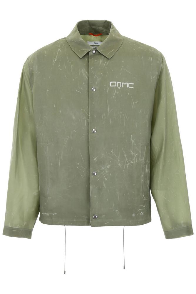 OAMC Logo Jacket in green