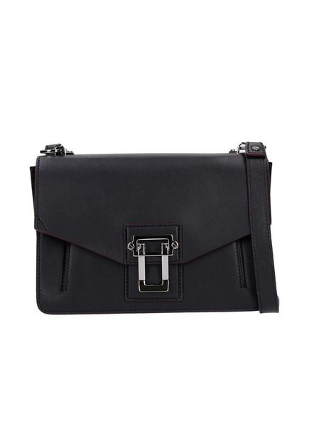 Proenza Schouler Hava Leather Shoulder Bag in black