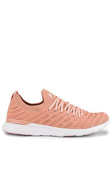 APL: Athletic Propulsion Labs TechLoom Wave Sneaker in Pink