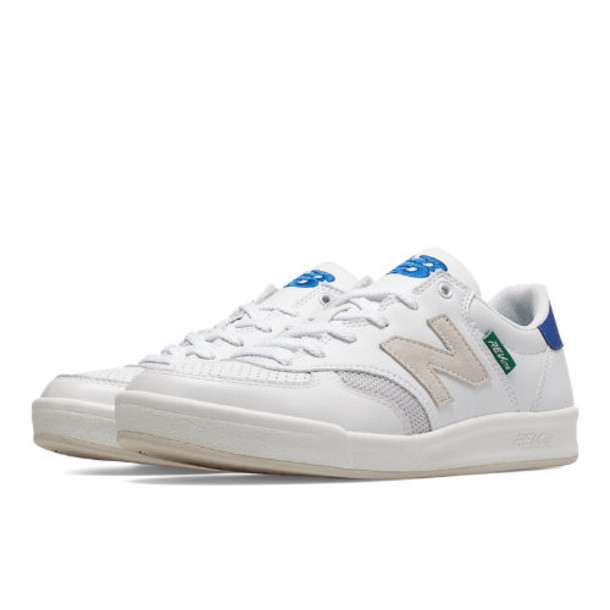 New Balance 300 Graffiti Men's Court Classics Shoes - White, Blue (CRT300DJ)