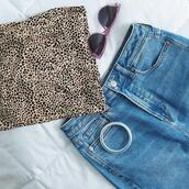 sunglasses,jewels,top