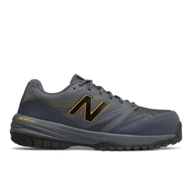 New Balance Composite Toe 589 Men's Work Shoes - Black/Yellow/Grey (MID589LC)