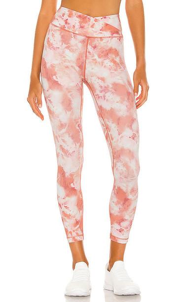 L'urv Pink Rock 7/8 Legging in Pink