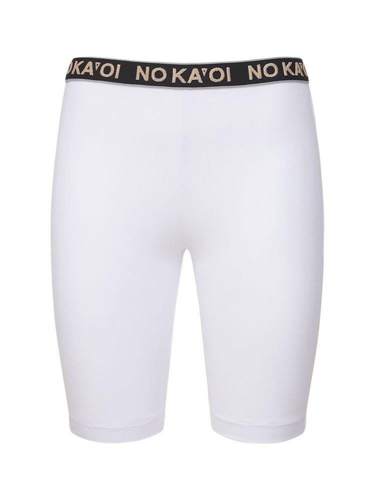 NO KA'OI True Bike Shorts in white