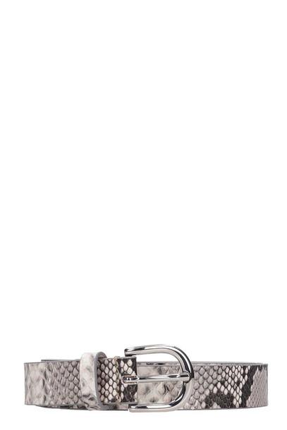 Isabel Marant Zap Belts In Animalier Leather