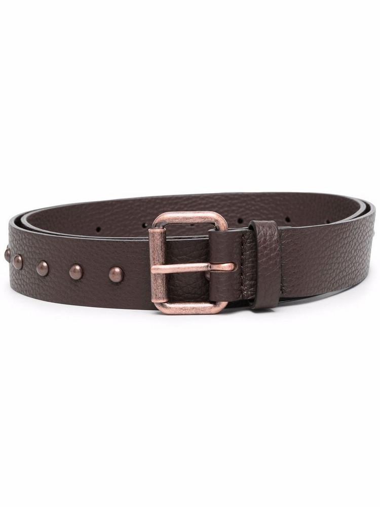 P.A.R.O.S.H. P.A.R.O.S.H. stud-detail belt - Brown